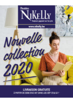 Prospectus  : Nouvelle collection 2020