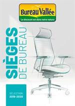 Prospectus  : Sièges de Bureau 2019-2020