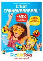 Prospectus Picwic : C'est Carnavaaaaal!