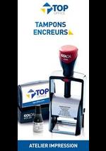 Prospectus Top office : Tampons Encreurs