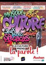 Prospectus Auchan : La culture prend la parole