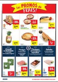 Promos et remises Carrefour Market HUY Av du Bosquet : folder Carrefour Market