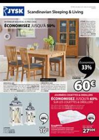 Prospectus Jysk ANDELNANS : Économisez jusqu'à 50%