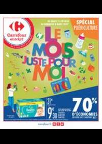 Prospectus Carrefour Market BOURGES AVENUE DE LATTRE DE TASSIGNY : Le mois juste pour moi