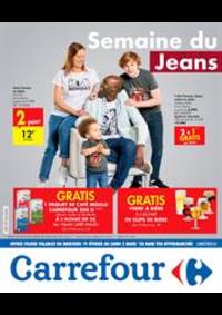 Prospectus Carrefour Express BRUXELLES Beurre : Semaine du Jeans