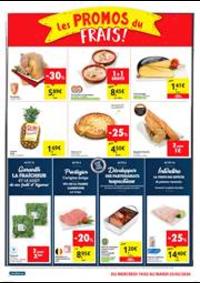 Prospectus Carrefour Express ANDERLECHT Mons  : Les promos du frais