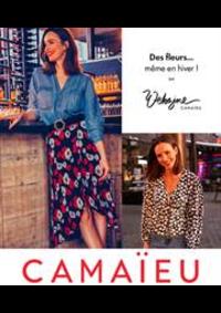 Catalogues et collections Camaieu Lausanne : Des fleurs même en hiver !