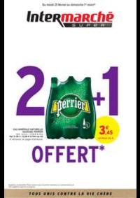 Prospectus Intermarché Super Villecresnes : 2 + 1 OFFERT