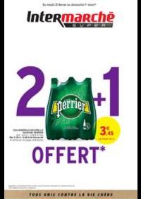 Prospectus Intermarché Super Aureilhan : 2 + 1 OFFERT