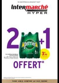 Prospectus Intermarché Hyper Thonon-Les-Bains : 2 + 1 OFFERT