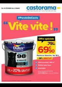 Prospectus Castorama PARIS 18 : Vite vite!
