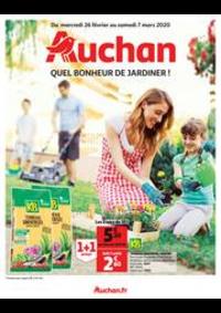 Prospectus Auchan MAUREPAS : Quel bonheur de jardiner !
