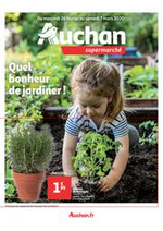 Prospectus Auchan Supermarché : Quel bonheur de jardiner !