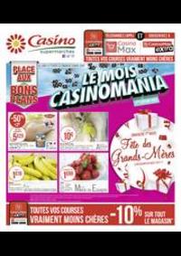 Prospectus Supermarchés Casino CLICHY 101 boulevard Jean Jaurès : Le mois Casinomania