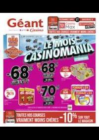 Prospectus Géant Casino LALOUBERE : Le mois Casinomania