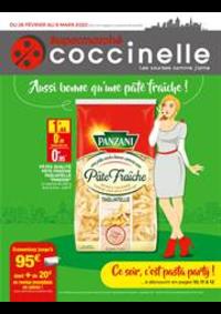 Prospectus Coccinelle Supermarché PARIS : Aussi bonne qu'une pâte fraîche!
