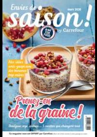 Journaux et magazines Carrefour CHARENTON LE PONT : Envies de saison