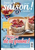 Journaux et magazines Carrefour : Envies de saison