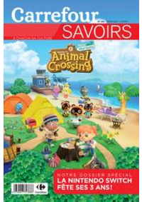 Journaux et magazines Carrefour CLAYE-SOUILLY : Savoirs Mars