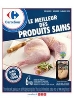 Prospectus Carrefour : Manger sain mars