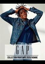 Catalogues et collections Gap : Collection Printemps 2020  Homme