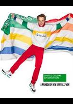 Prospectus Benetton : A Rainbow of New Arrivals / Men