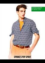Catalogues et collections Benetton : Spring's POP Spirit