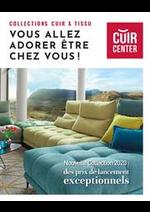 Prospectus Cuir Center : Nouvelle Collection 2020