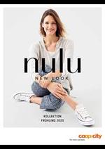 Promos et remises  : Nulu - Kollektion Frühling 2020