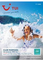 Bons Plans TUI : Brochure TUI Club Marmara Été 2020