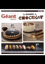 Prospectus  : Les semaines du chocolat