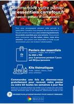 Services et infos pratiques Carrefour Drive : Livraison Gratuite et sans contact