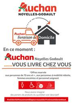 Services et infos pratiques Auchan : Auchan vous livre chez vous