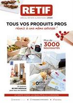 Prospectus Retif : Spécial métiers alimentaires 2020