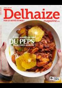 Prospectus Supermarché Delhaize Liège Rue de Fragnée 41 : Delhaize Magazine