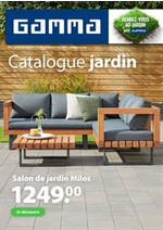 Prospectus GAMMA : Catalogue jardin