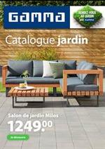 Prospectus GAMMA : Catalogue jardin