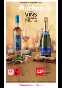 Prospectus Auchan Vélizy : Auchan des vins et des mets