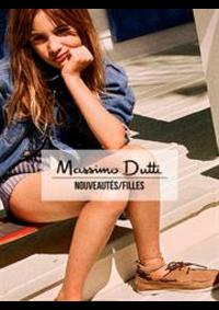 Prospectus Massimo Dutti PARIS : Nouveautés / Filles