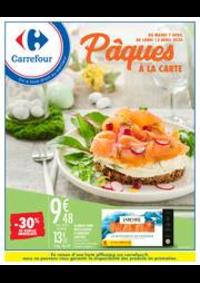 Prospectus Carrefour CHARLEVILLE MEZIERES : Pâques à la carte