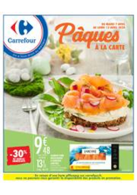 Prospectus Carrefour GENNEVILLIERS : Pâques à la carte