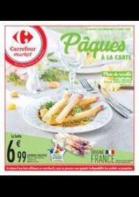 Prospectus Carrefour Market THONON LES BAINS  : Pâques à la carte