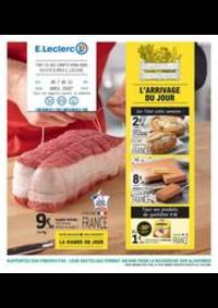 Prospectus E.Leclerc CLICHY SOUS BOIS : L?ARRIVAGE DU JOUR