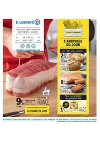 Prospectus E.Leclerc CONFLANS SAINTE HONORINE : L?ARRIVAGE DU JOUR