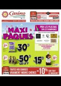 Prospectus Supermarchés Casino ASNIERES ZAC du métro - Ilot F : Maxi Pâques