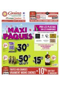 Prospectus Supermarchés Casino SURESNES : Maxi Pâques