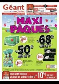Prospectus Géant Casino SAINT-LOUIS : Maxi Pâques