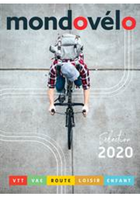 Prospectus Sport 2000 GIF SUR YVETTE : Catalogue Mondovélo 2020