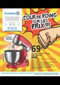 Prospectus E.Leclerc ORLY : COUP DE POING SUR LES PRIX!