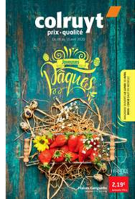 Prospectus Colruyt STALLE - UCCLE : Joyeuses paques